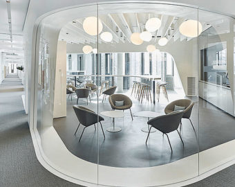 Wnętrza biura WIKUS
