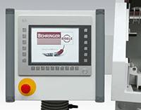 Przecinarka tarczowa do aluminium - Intuicyjny system sterowania