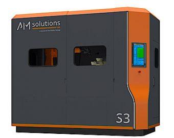AM SOLUTIONS S3 - zrobotyzowana stacja do obróbki wydruków 3d