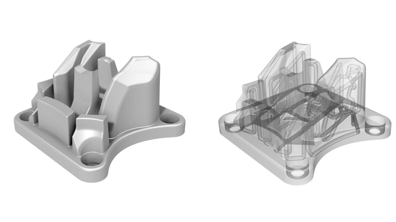 Baner: Automatyczna obróbka powierzchni wewnętrznych wydruków 3D