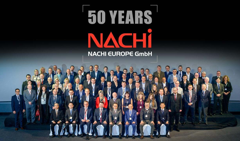 Baner: 50 rocznica NACHI EUROPE