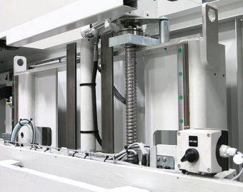 napęd serwo przemysłowa automatyczna przecinarka taśmowa behringer hbe-321