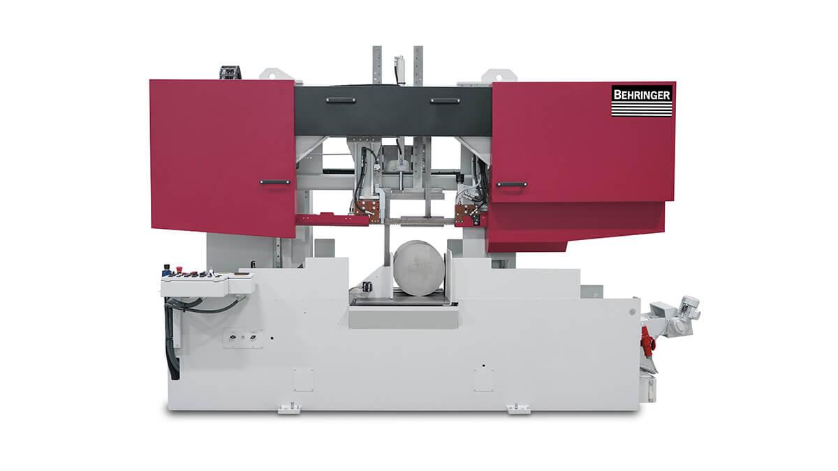 automatyczna przecinarka taśmowa hbe560 o zakresie cięcia do 560mm , a w opcji 610mm
